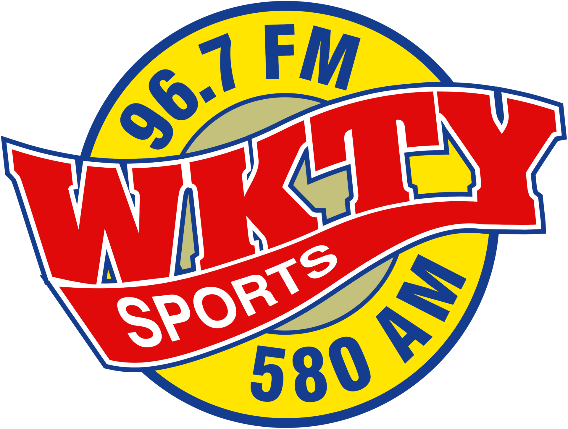 96.7 WKTY logo